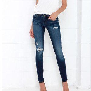 Blank NYC Hotel Distressed Skinny Jeans sz 24